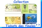 Les tickets des matches de l'OM par un collectioneur