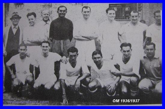 olympique de marseille  saison 1936